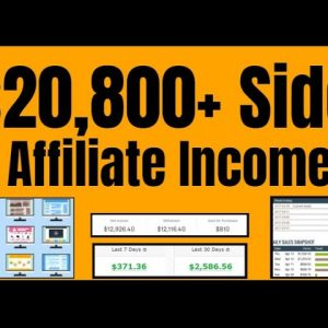 Affiliate Income No Website | Zero To $20,000 Earning - No Website Needed - @Clickbank Success