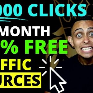 26,000 Clicks Per Month! Top 5 Affiliate Marketing Traffic Sources