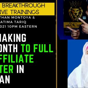 From Making $80/Month to Full Time Affiliate Marketer In Pakistan With Fatima Tariq