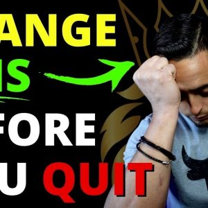 How To Change Your Mindset & Quit Your 9 to 5 Job