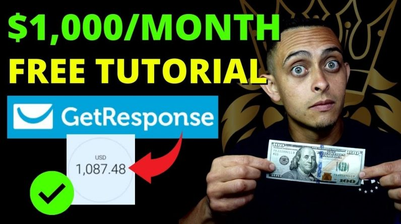 How To Make Money Online with GetResponse Affiliate Program in 2021 (FREE Affiliate Tutorial)