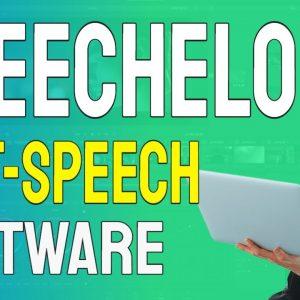 Speechelo Best Text to Speech Software for Youtube Videos