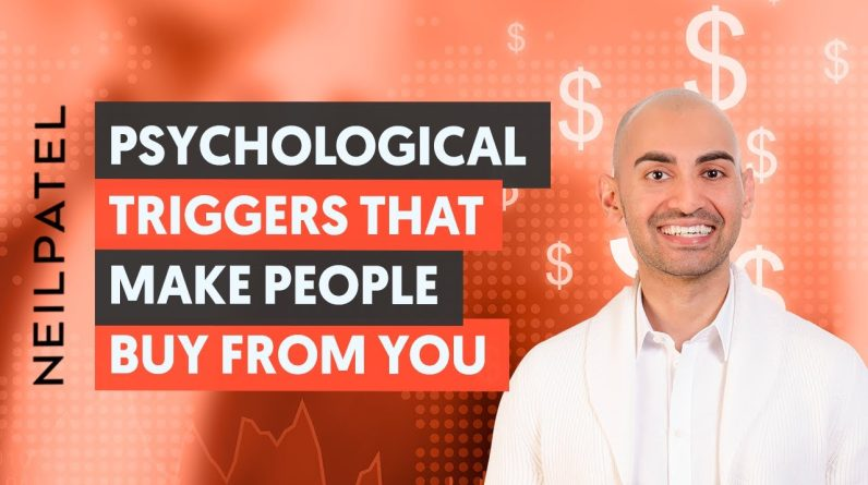 10 Psychological Triggers to MAKE PEOPLE BUY From YOU! (How to Increase Conversions)