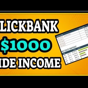 Zero To $1000/Days A-Z Tutorial | Clickbank Affiliate Marketing For Beginners @Clickbank Success